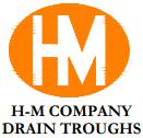 H-M Company Drain Troughs Logo